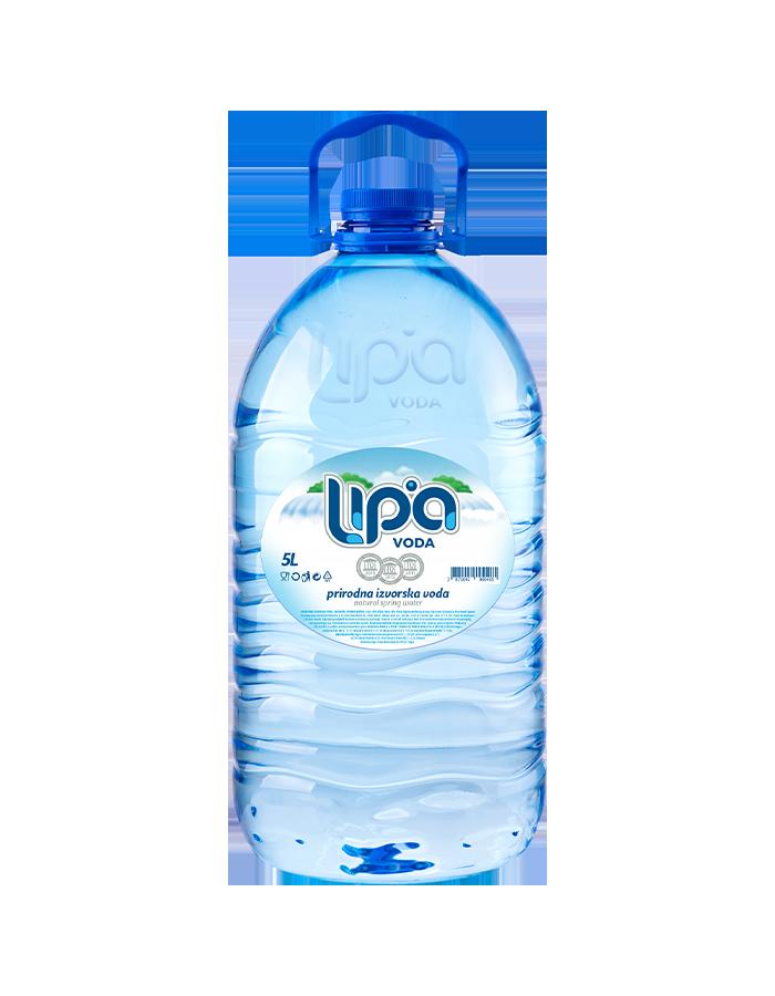 Lipa izvorska voda 5 L