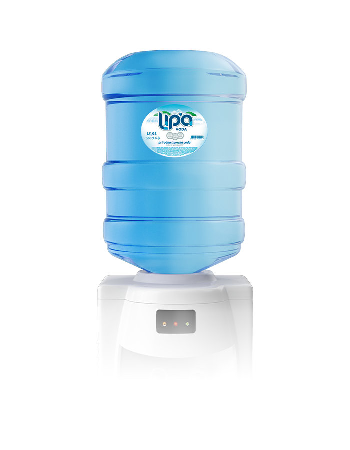 Lipa izvorska voda 18.9 L